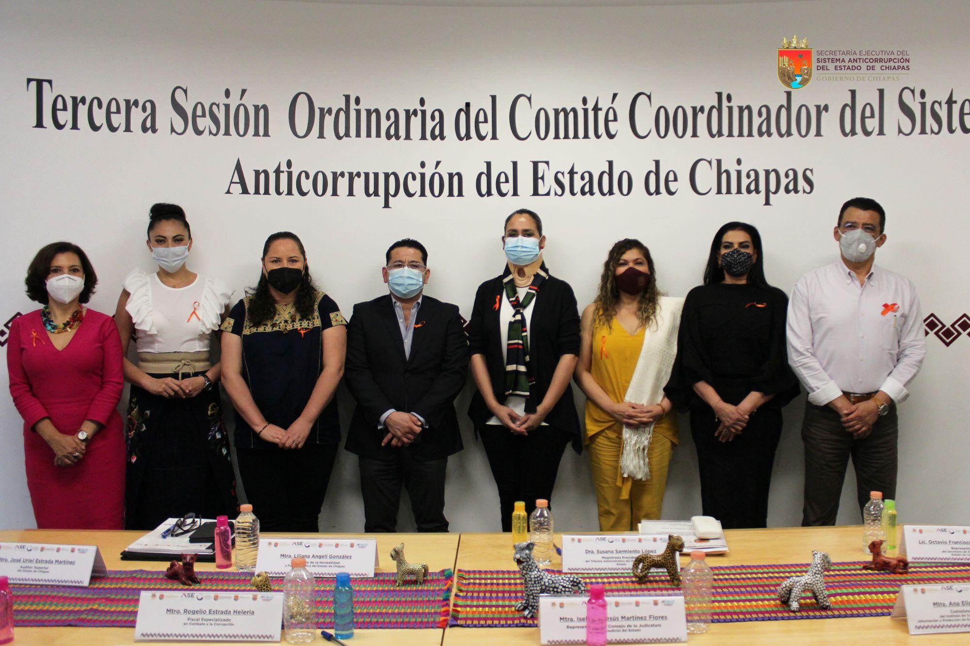 Tercera Sesión del Comité Coordinador del SAECH