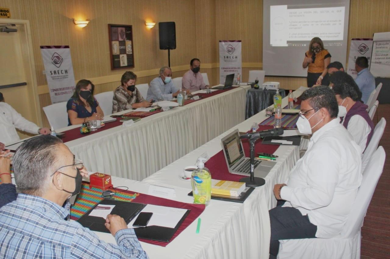 Concluyen conversatorios regionales para el Diagnóstico de la Política Estatal Anticorrupción