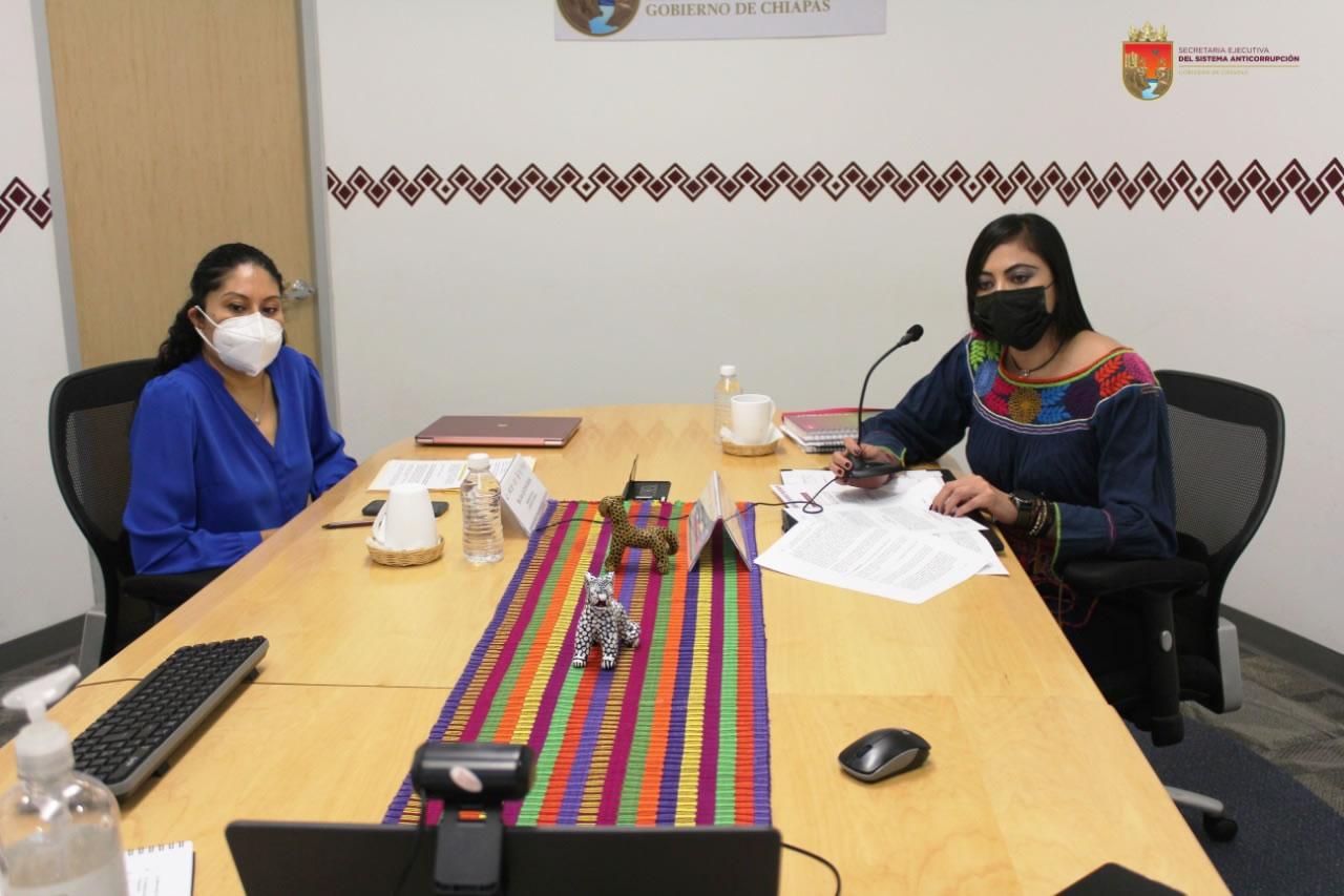 Sesiona el Comité Coordinador del Sistema Anticorrupción del Estado de Chiapas
