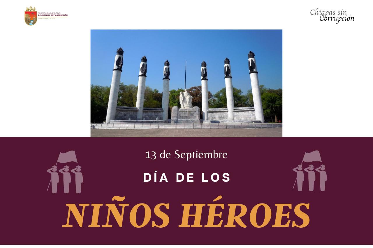 174 Aniversario de la Gesta Heroica de los Niños Héroes de Chapultepec