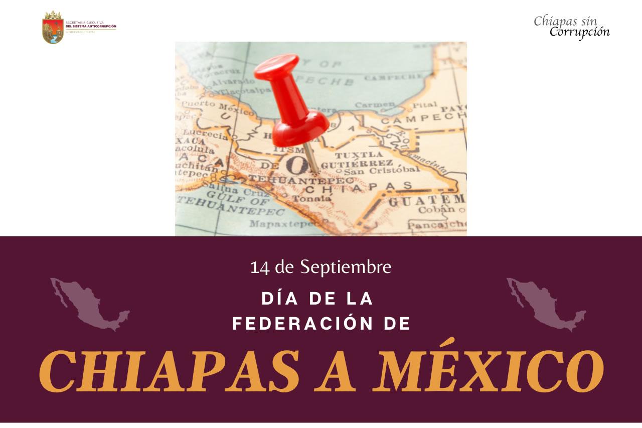 197 Aniversario de la Federación de Chiapas a México